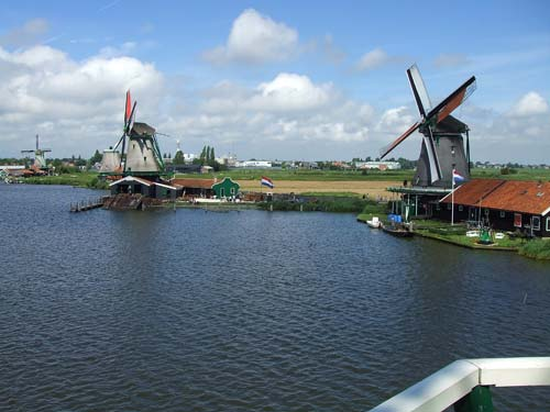 The windmills Zaanse Schans
